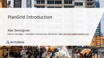 Autodesk PlanGrid for Construction – Part 1