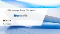 BIM Manager Panel Discussion