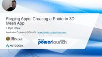 Forging Apps Creating a Photo to 3D Mesh App – 2 of 2