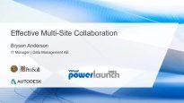 Effective Multi-Site Collaboration
