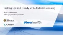 Getting Up and Ready with Autodesk Licensing